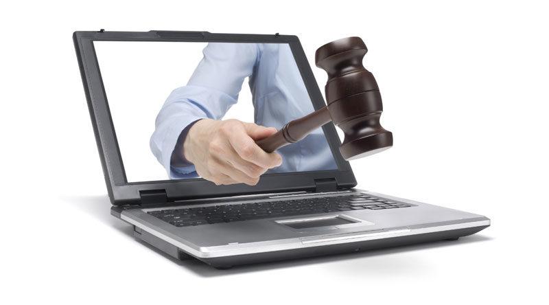 La imagen simboliza la publicación de resoluciones judiciales por parte del CENDOJ, que actualmente tiene el monopolio de la distribución de sentencias para su reutilización y, además, en productor de un base de datos documental
