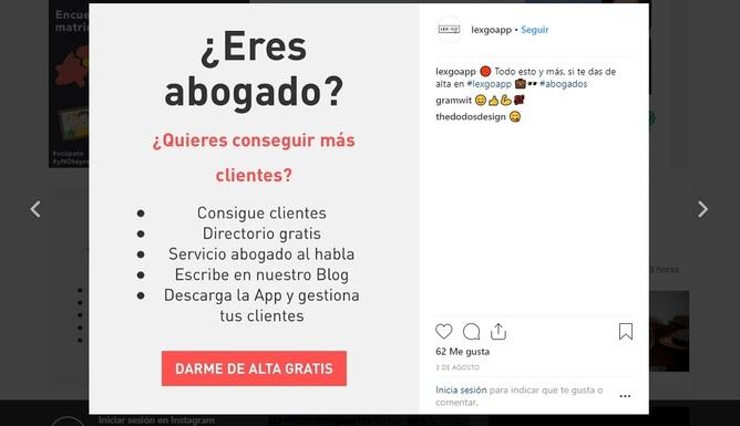 Resumen de ventajas y objetivos para el abogado en LexGoApp