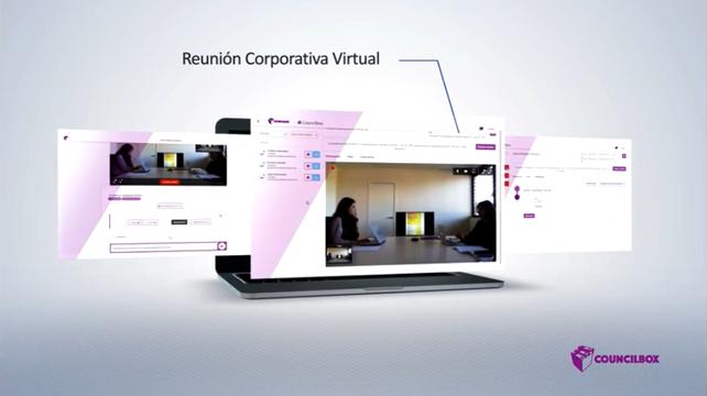 Councilbox_Reunión corporativa virtual