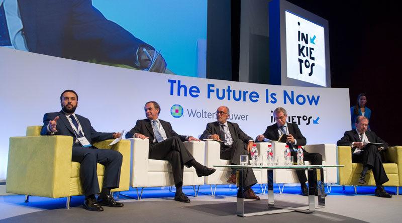 """El Legal Management Forum 2014 contó con los más prestigiosos expertos en la gestión de las firmas de abogagados. Su lema en esta edición fue """"The future is now"""", señalando la imparable tendencia de la imprementación de la tecnología y la innovación en el sector legal"""