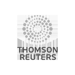 Logotipo de Thomson Reuters en la Guía Legaltech
