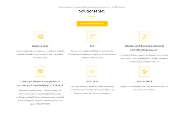 Lleida.net_Productos de Soluciones SMS