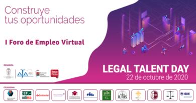 ¡Ya puedes ver los vídeos del Legal Talent Day!