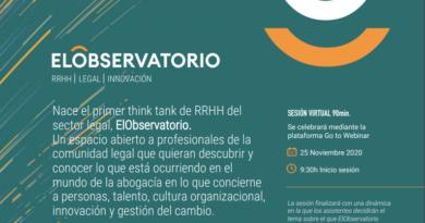 Nace el primer think tank de RRHH del sector legal: ElObservatorio